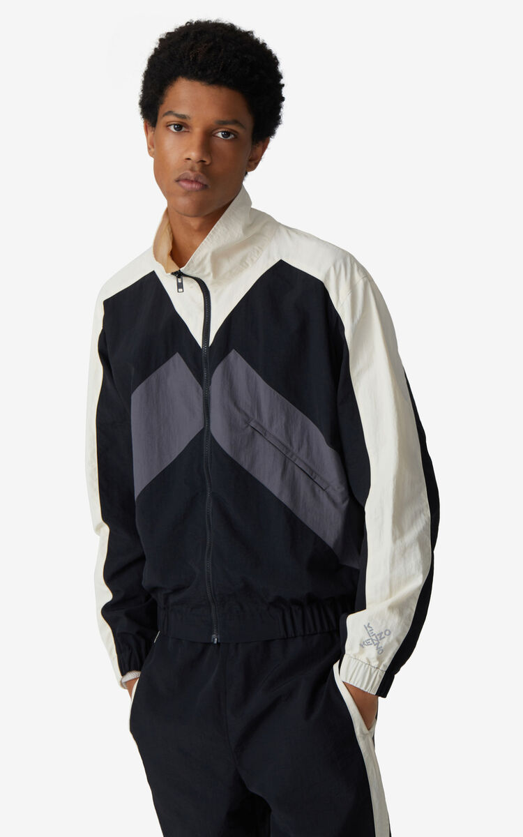 BLACK KENZO Sport jacket for men