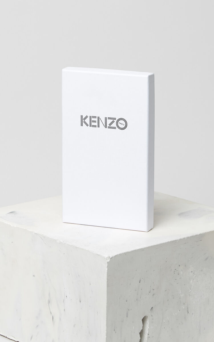 BLACK Tiger iPhone X Folio for men KENZO