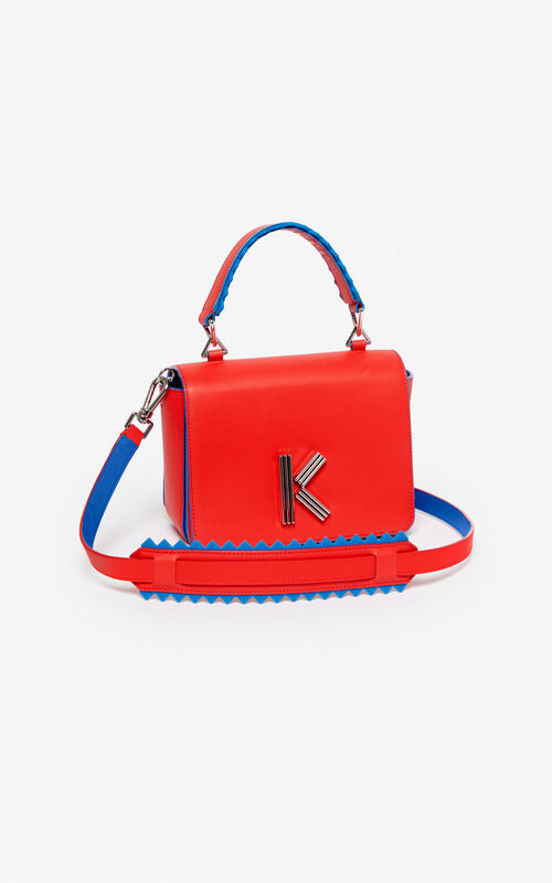 MEDIUM RED K-Bag for unisex KENZO ...