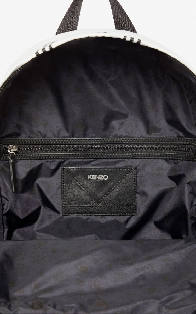 OFF WHITE Large KENZO Logo backpack for global.none