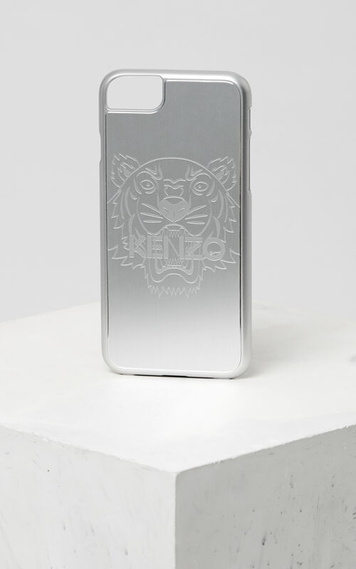 SILVER iPhone 7+/8+ Tiger Case for unisex KENZO