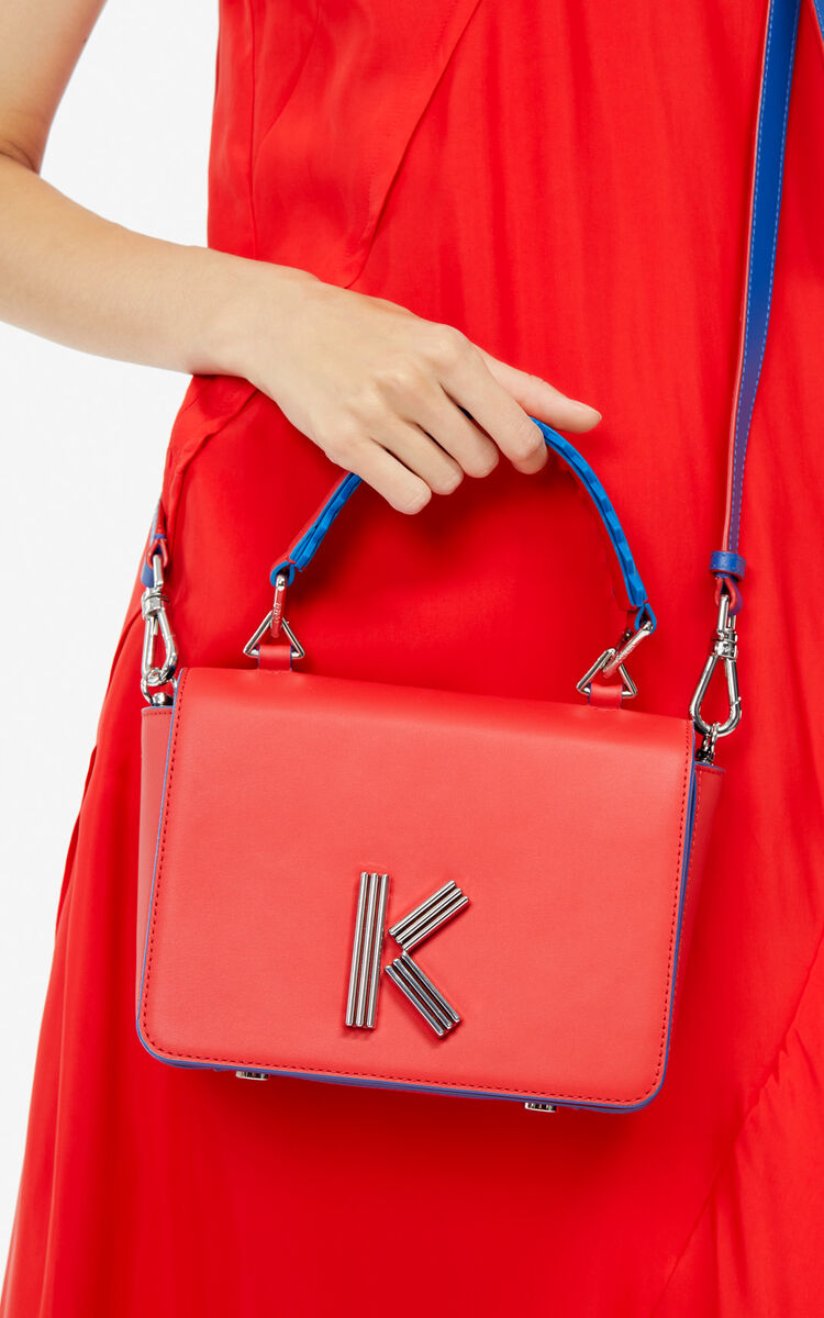 MEDIUM RED Handtasche K-Bag für damen KENZO