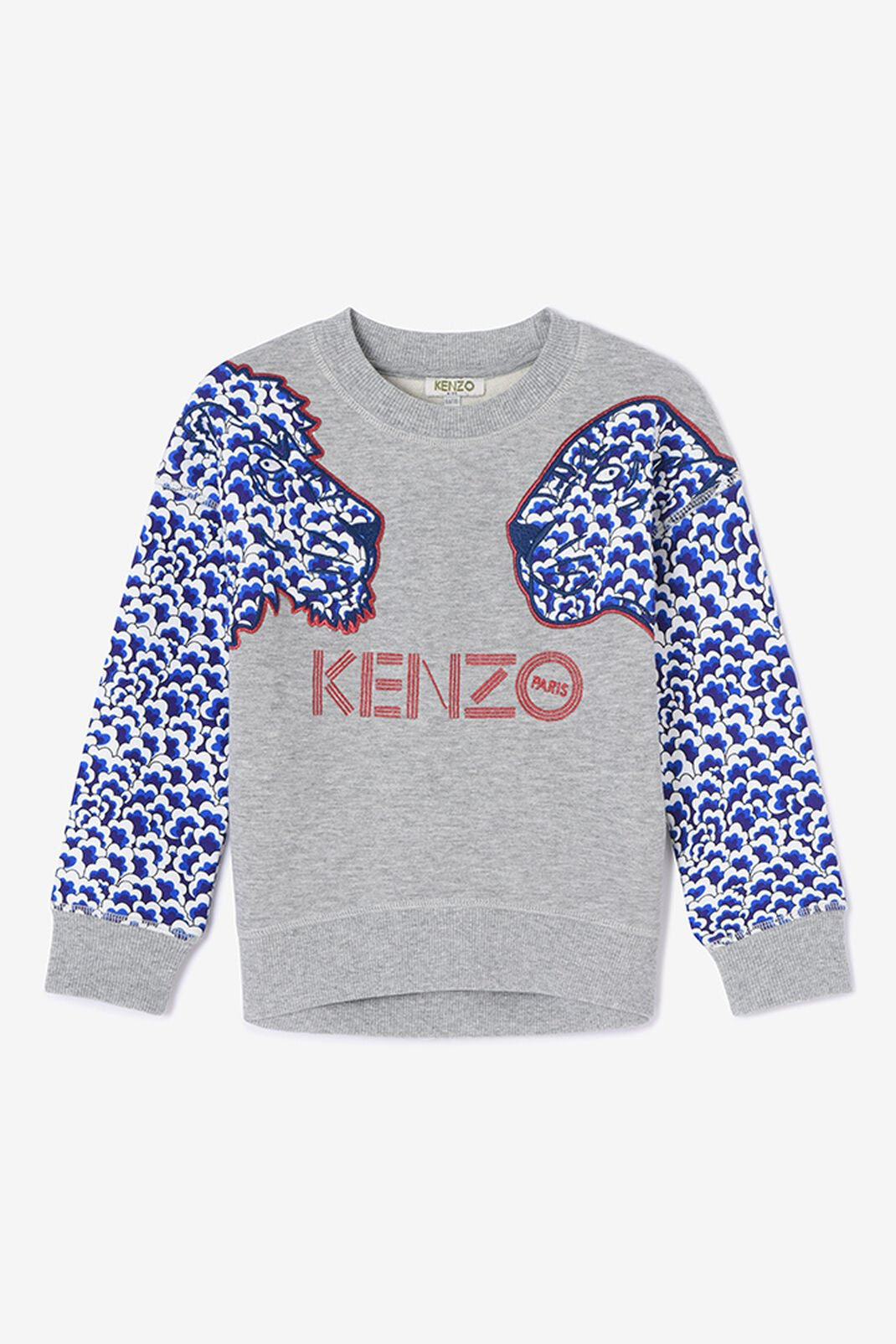 PEARL GREY Tiger Friends x Popcorn sweatshirt for women KENZO