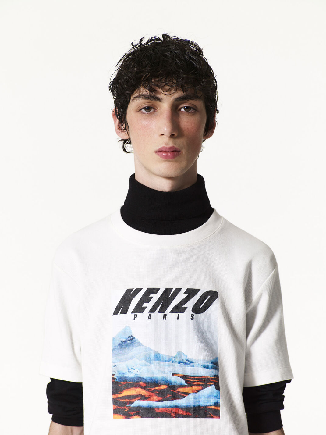 CREAM Tropical Ice' T-shirt for men KENZO