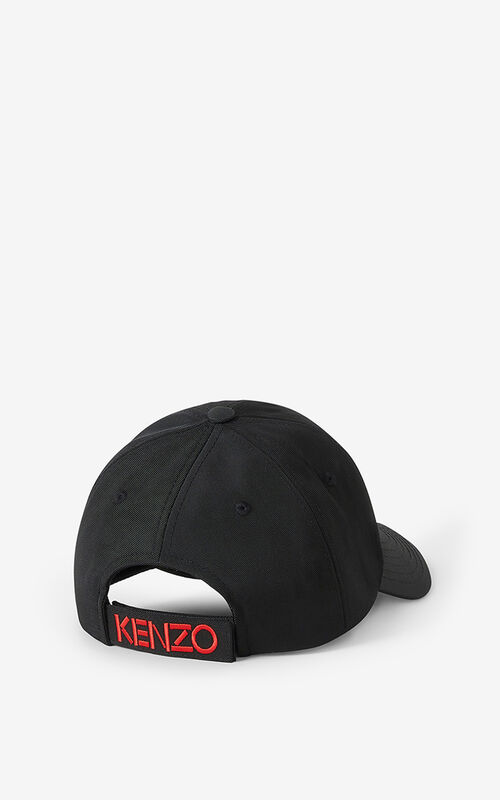 BLACK  Kampus Tiger baseball cap for unisex KENZO