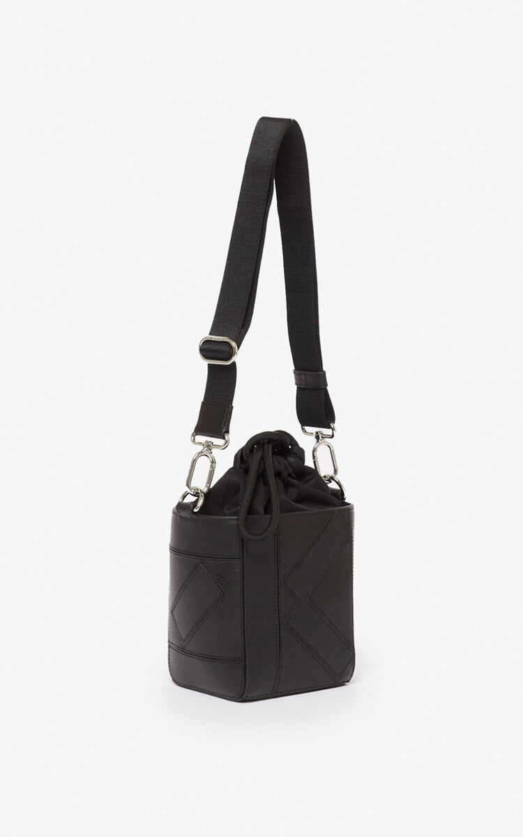 BLACK Kube Nano Tote Bag for unisex KENZO