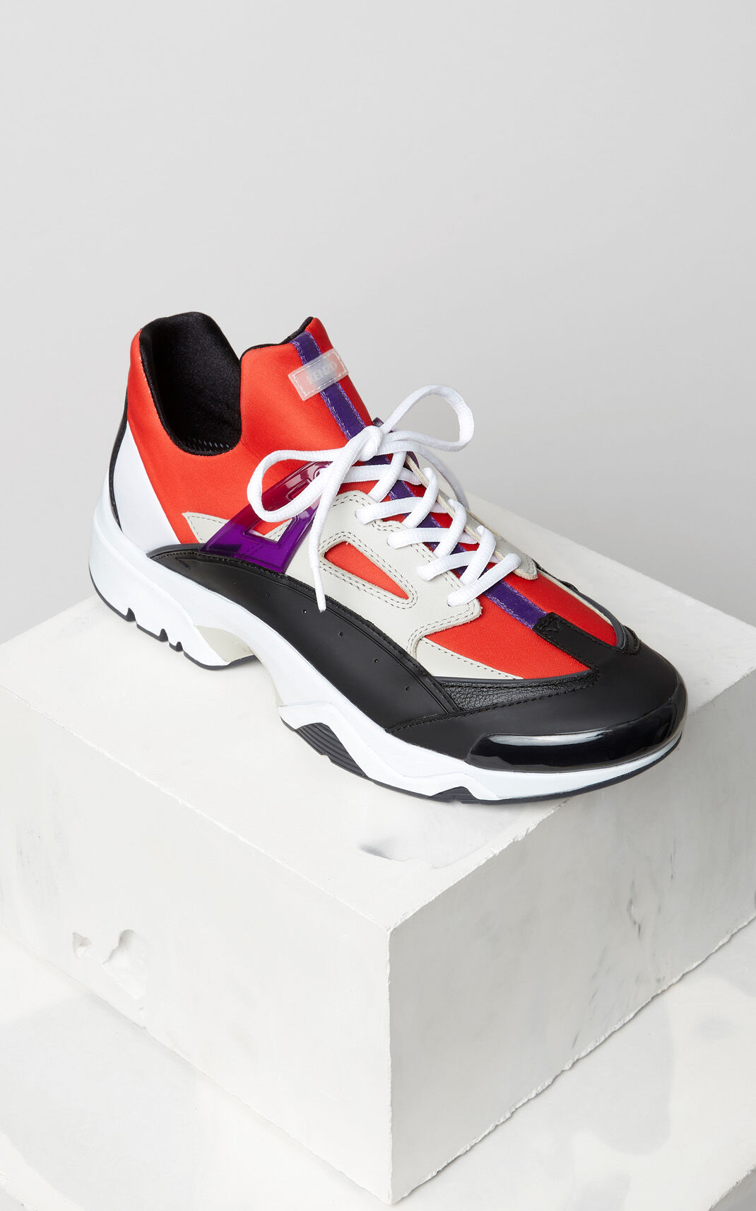 MEDIUM RED Sonic sneakers for men KENZO