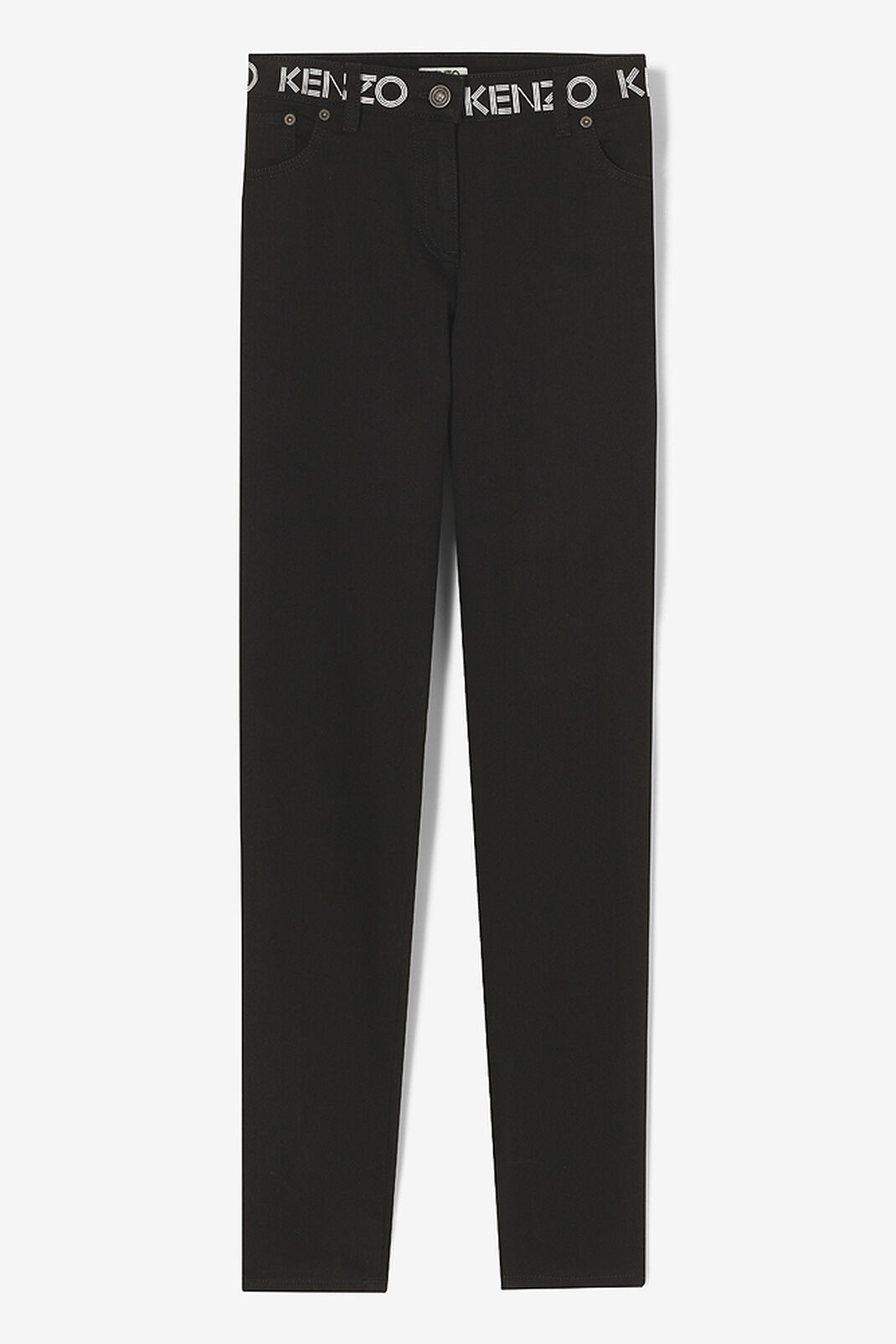 BLACK KENZO Super Stretch Jeans for women