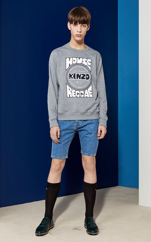 House of Reggae Sweatshirt, ANTHRACITE, KENZO