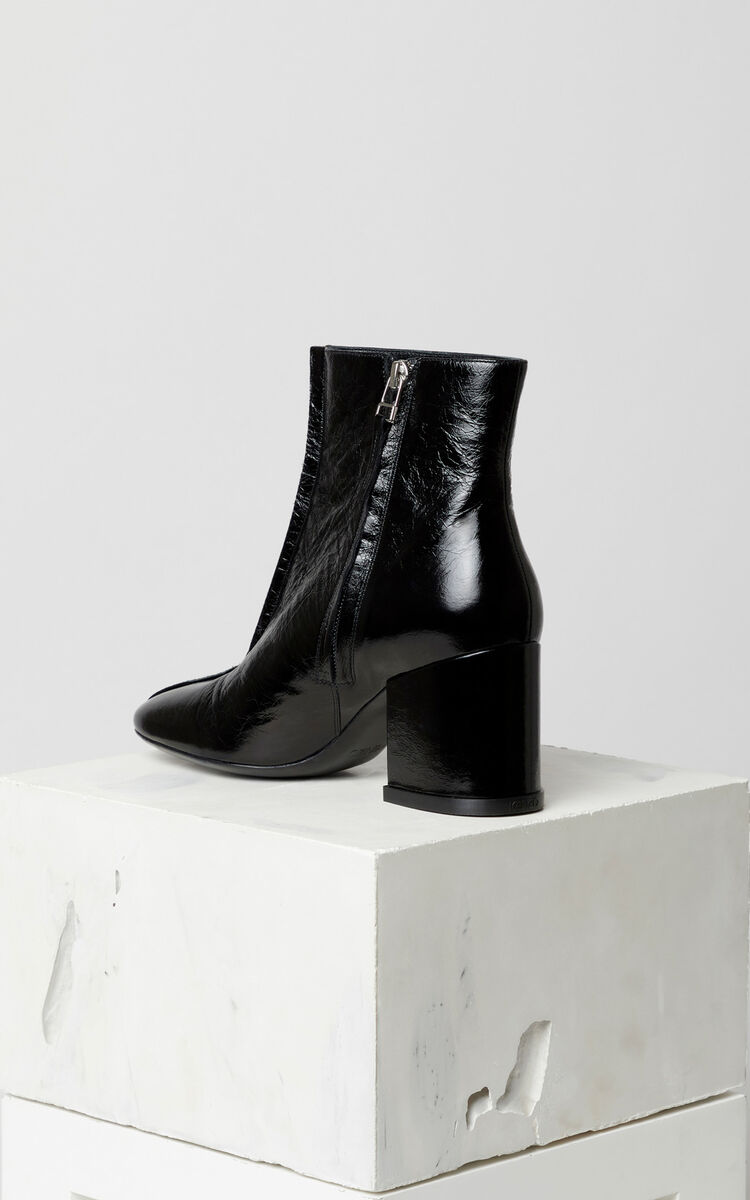 BLACK Daria ankle boots for women KENZO