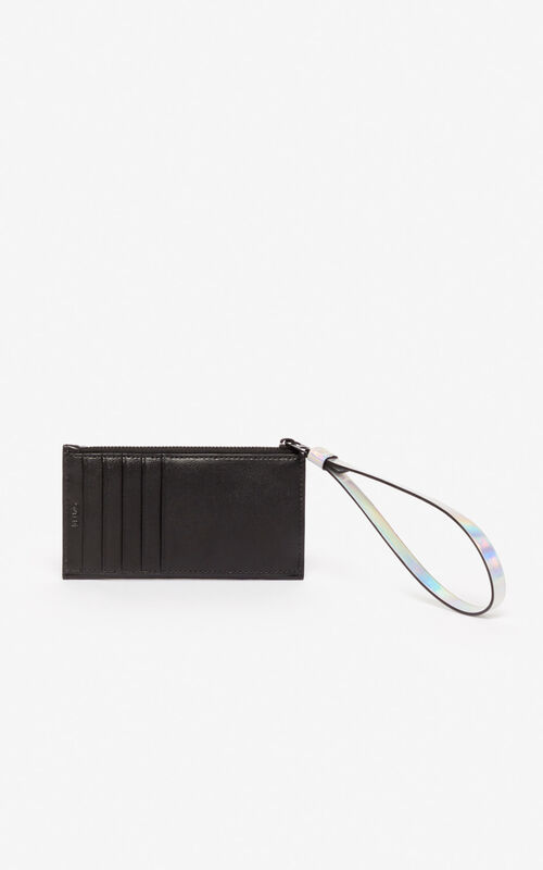 BLACK 'Holiday Capsule' KENZO Kontrast cardholder for women