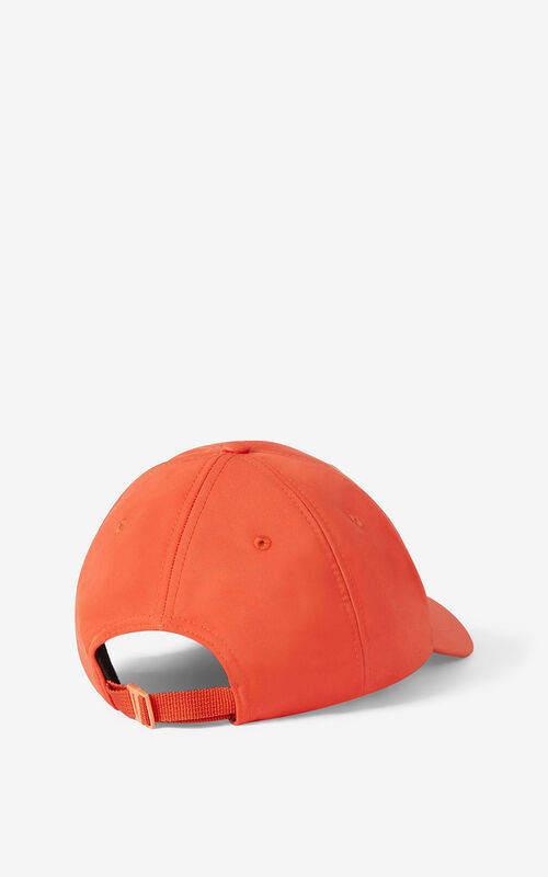 DEEP ORANGE KENZO Sport 'Little X' baseball cap  for men