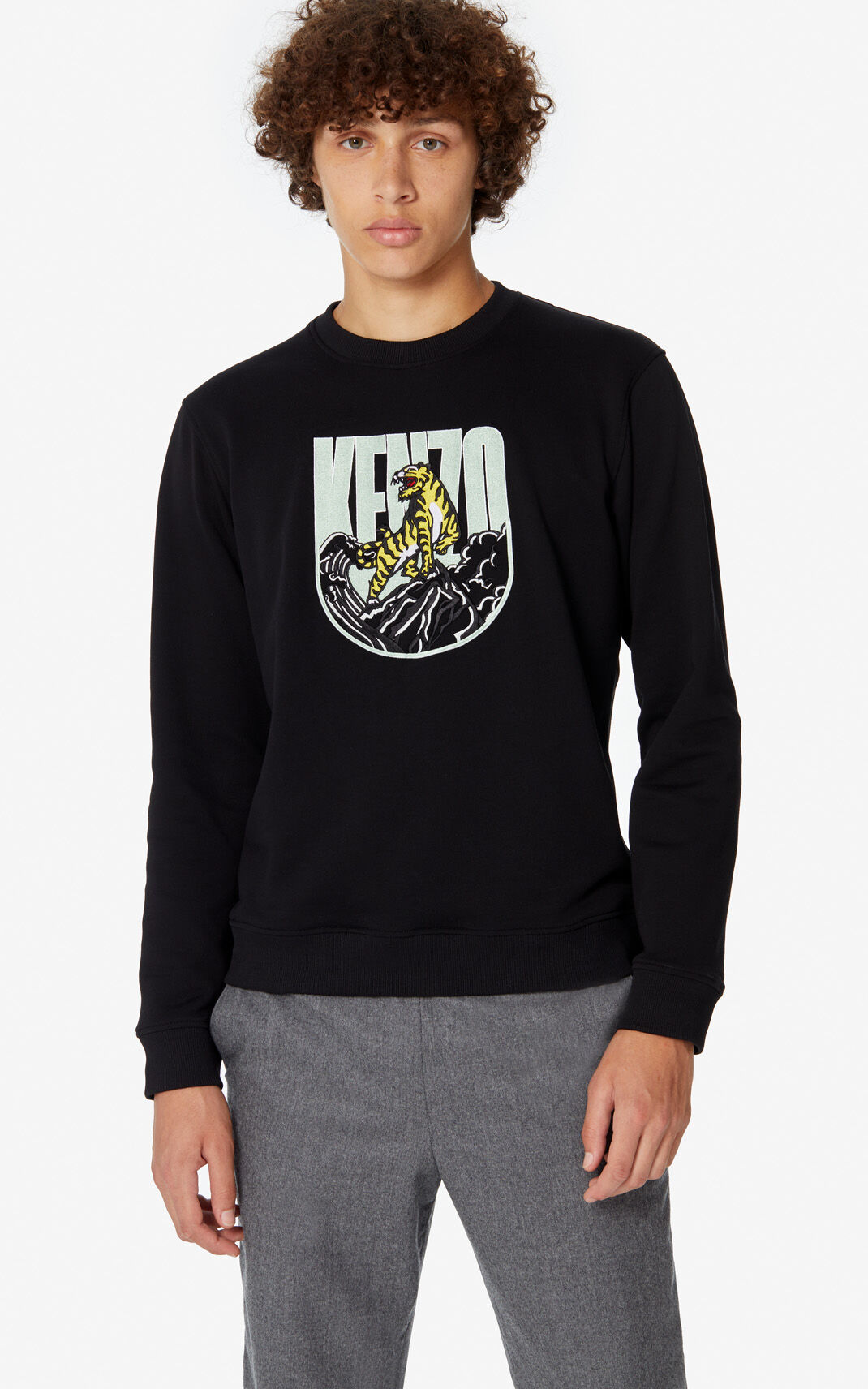 Tiger Mountain' 'Capsule Expedition' sweatshirt for Kenzo