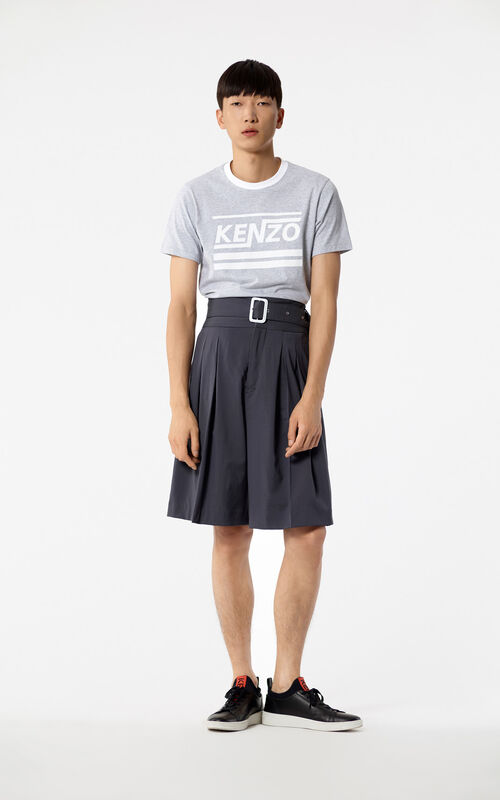 PEARL GREY 'Hyper KENZO' t-shirt for men