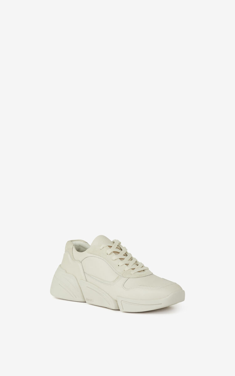 ECRU Kross leather sneakers for men KENZO