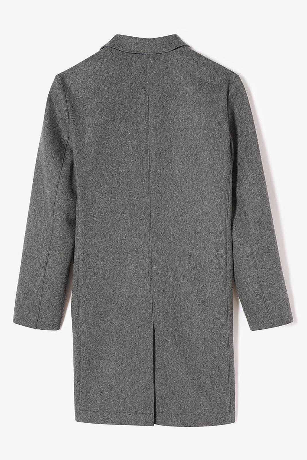 MIDDLE GREY Scuba Wool Coat for men KENZO