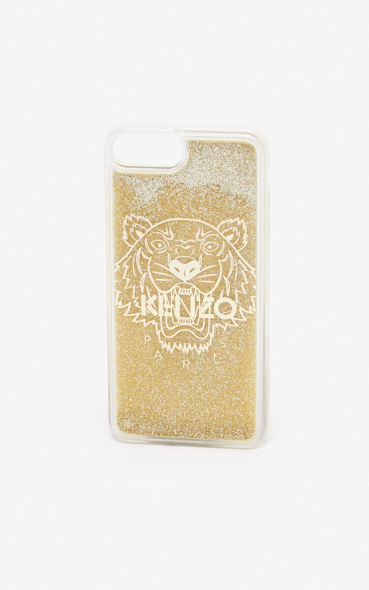 GOLD iPhone 8+ Case for women KENZO