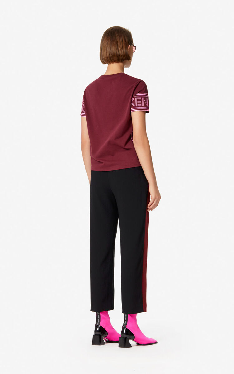 BORDEAUX KENZO Logo T-shirt for women
