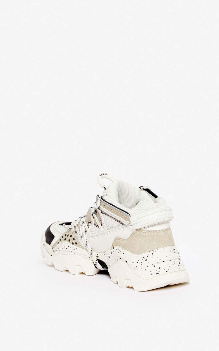 PALE GREY Inka sneakers for women KENZO