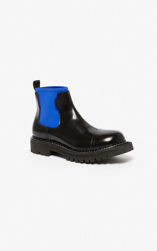 FRENCH BLUE Kamden boots for unisex KENZO