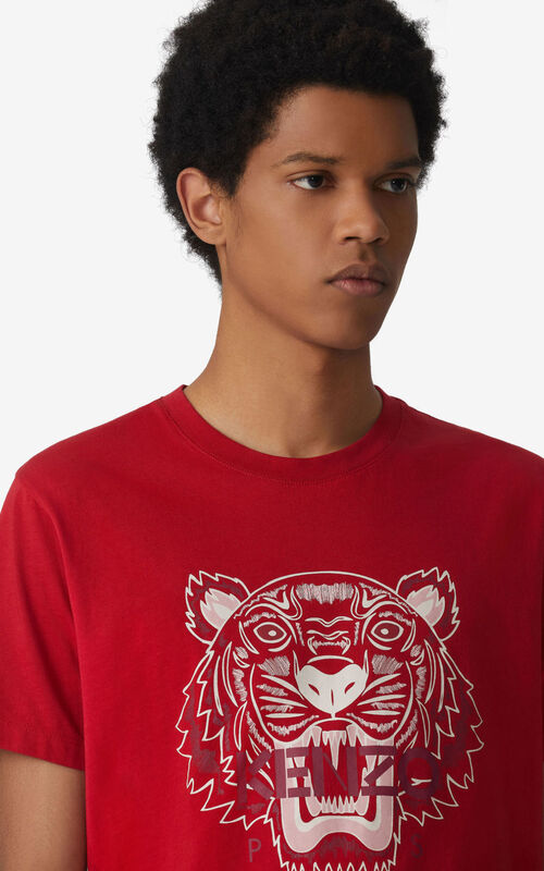 CHERRY Tiger t-shirt for men KENZO