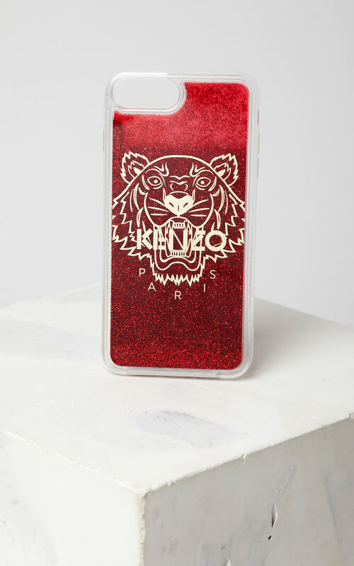 MEDIUM RED iPhone 7+ / 8+ Tiger Case for unisex KENZO