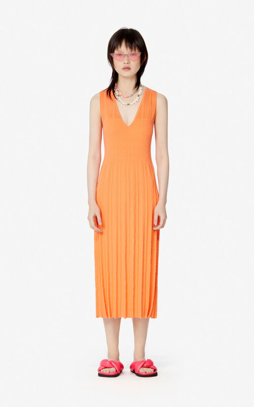 APRICOT Knit midi dress for women KENZO