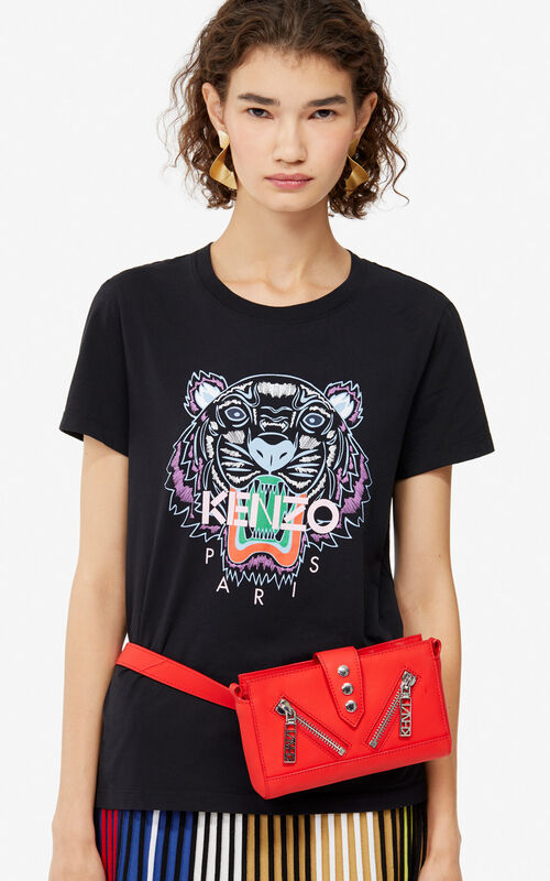 BLACK Tiger t-shirt for women KENZO ... 86db494bc59e