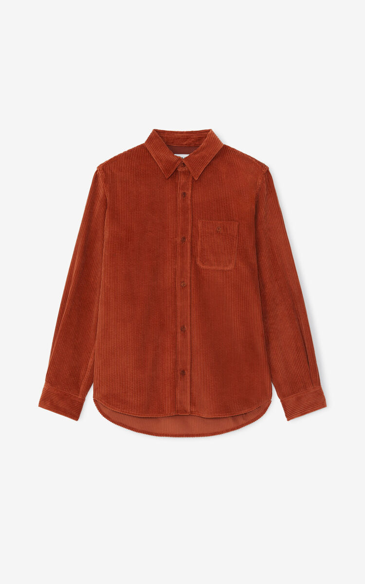 SUEDE Casual overshirt for women KENZO