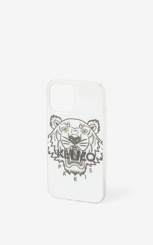 WHITE iPhone 12 Pro Max case for unisex KENZO
