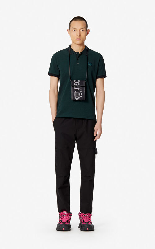 PINE Fitted Tiger polo shirt for men KENZO