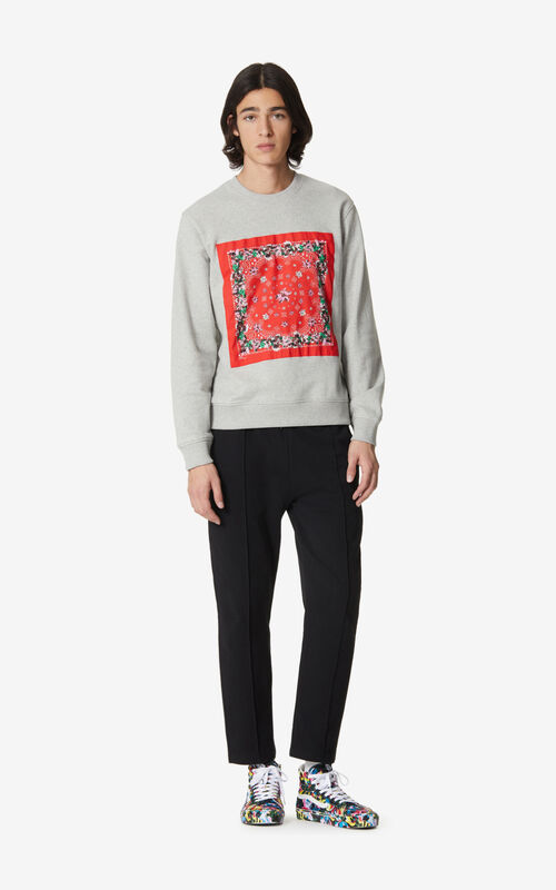 ANTHRACITE 'Bandana' sweatshirt for women KENZO