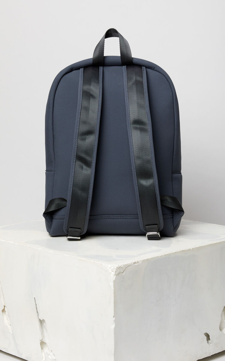 ANTHRACITE 'High Summer Capsule Collection' Tiger large neoprene backpack for women KENZO
