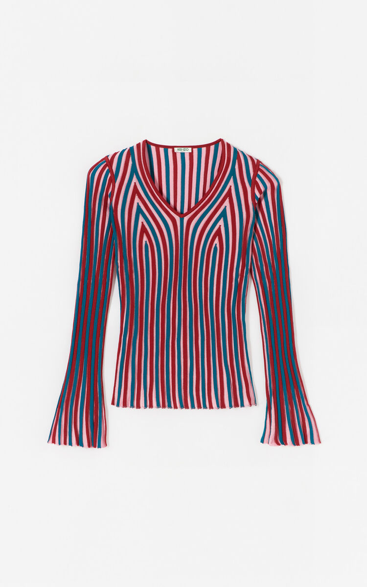 PASTEL PINK Pleated top for women KENZO