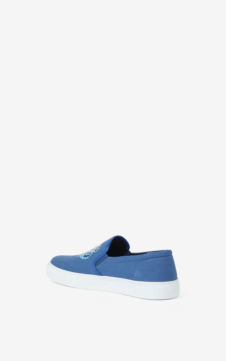 SAPPHIRE K-Skate Tiger lace-free trainers for unisex KENZO