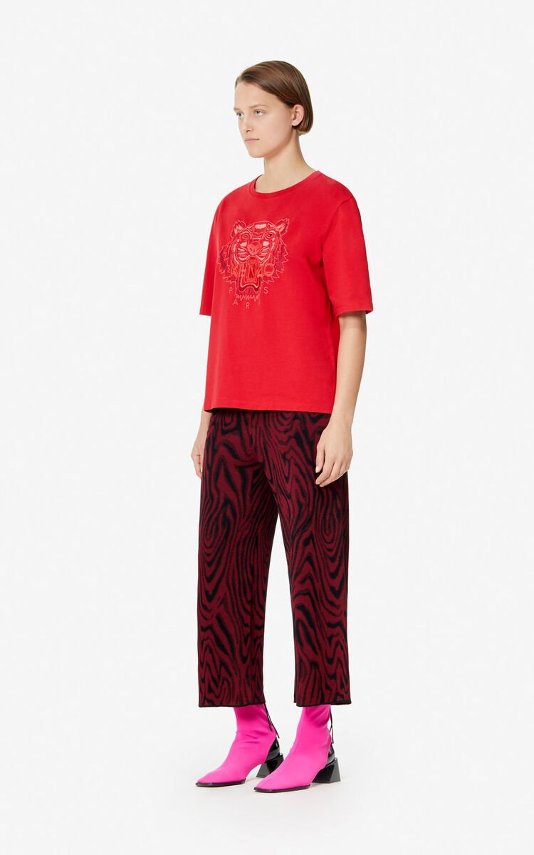 e16cc8b63f Monochrome Tiger' T-shirt for WOMEN Kenzo | Kenzo.com