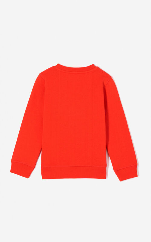 DEEP ORANGE Tiger sweatshirt KENZO