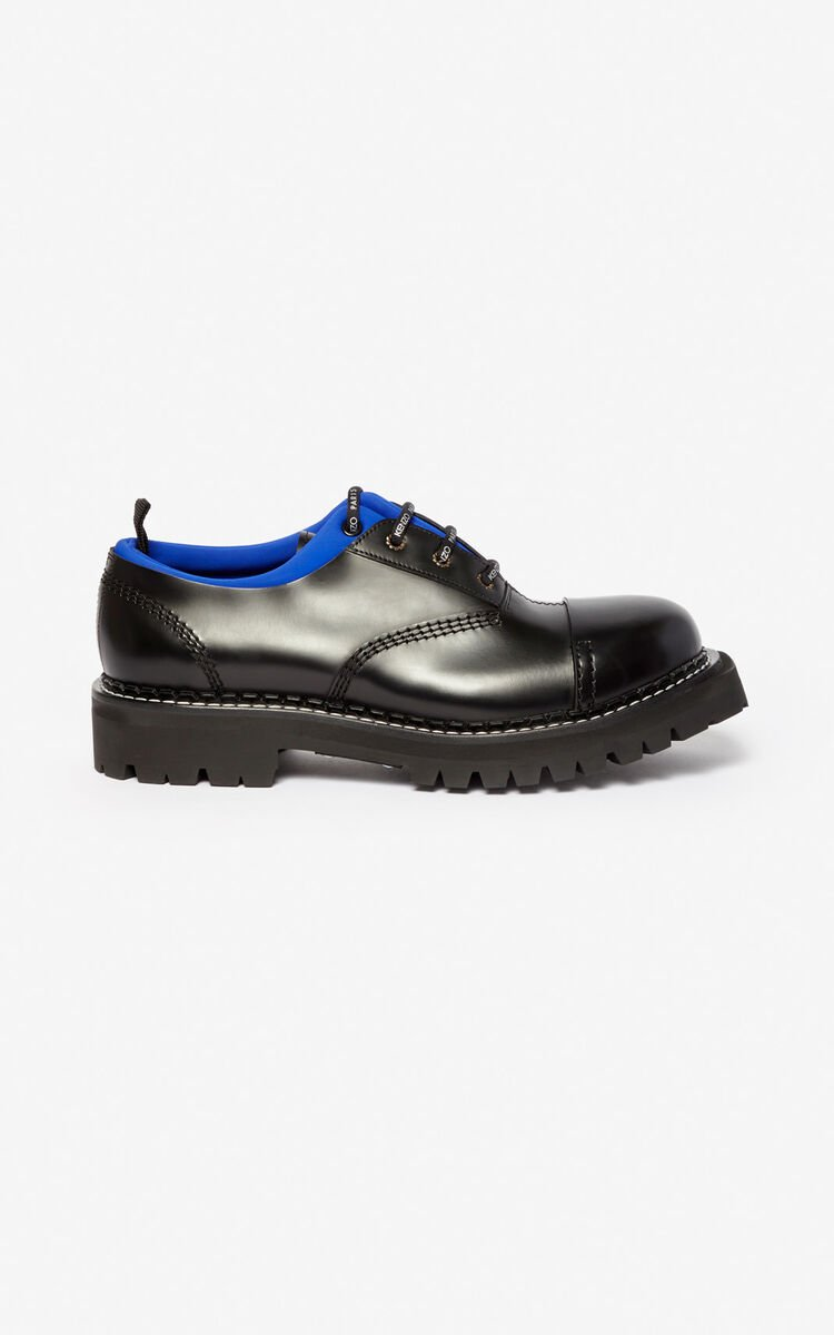 FRENCH BLUE Kamden brogue shoes for men KENZO