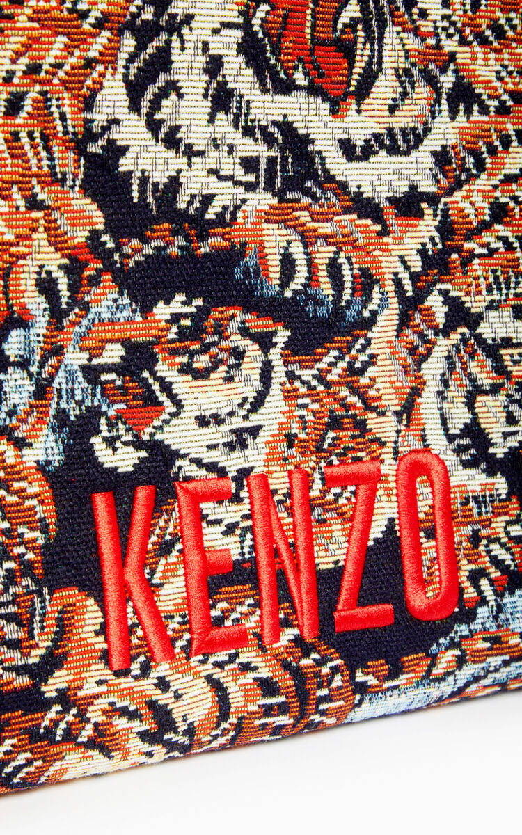 MULTICOLOR Jungle 'Flying Tiger' tote bag for women KENZO