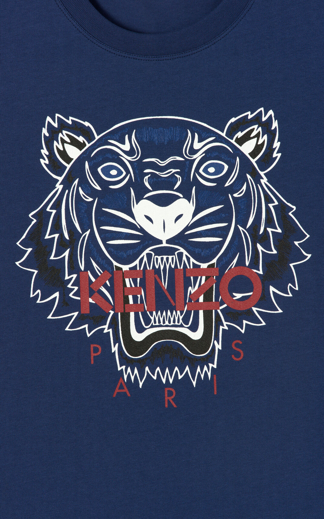 INK 'Bleached Tiger ' T-shirt for women KENZO