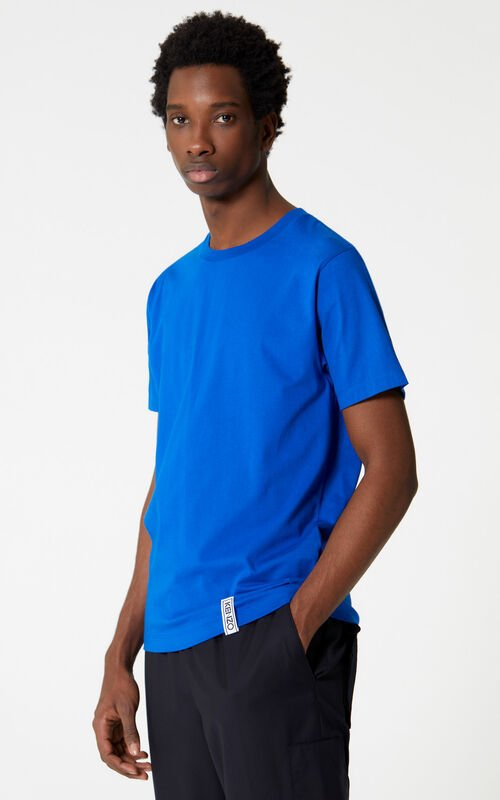 SLATE BLUE KENZO t-shirt for men