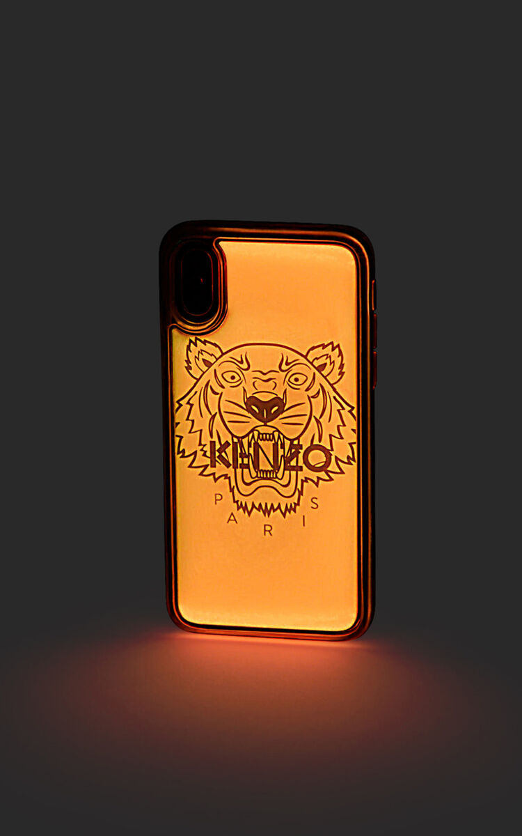 STRAWBERRY iPhone X/XS Tiger case for unisex KENZO