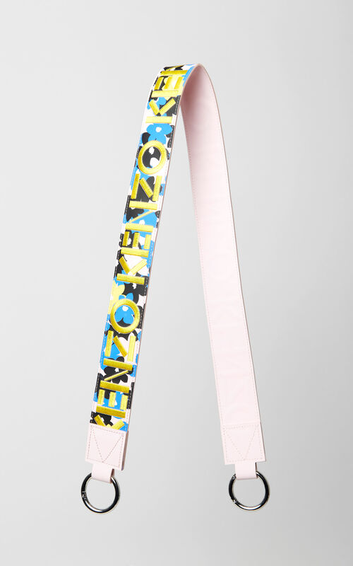 FRENCH BLUE 'Jackie Flowers' Strap for Mini Kalifornia for unisex KENZO