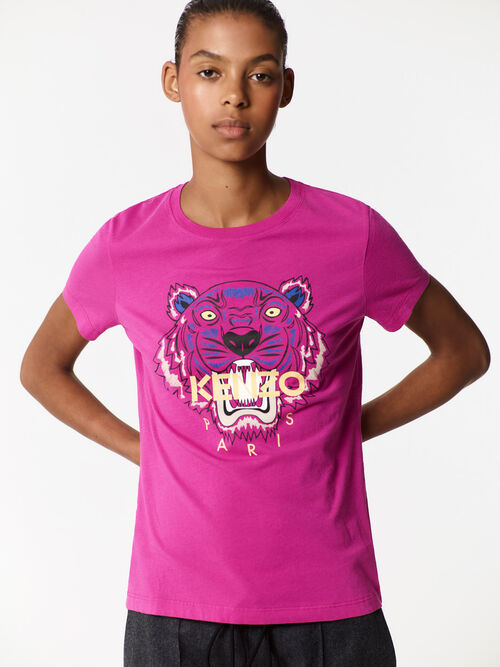 DEEP FUSCHIA Tiger T-shirt for women KENZO