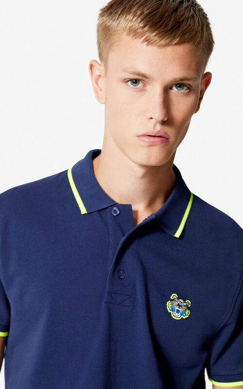 INK Slim fit Tiger polo shirt for women KENZO