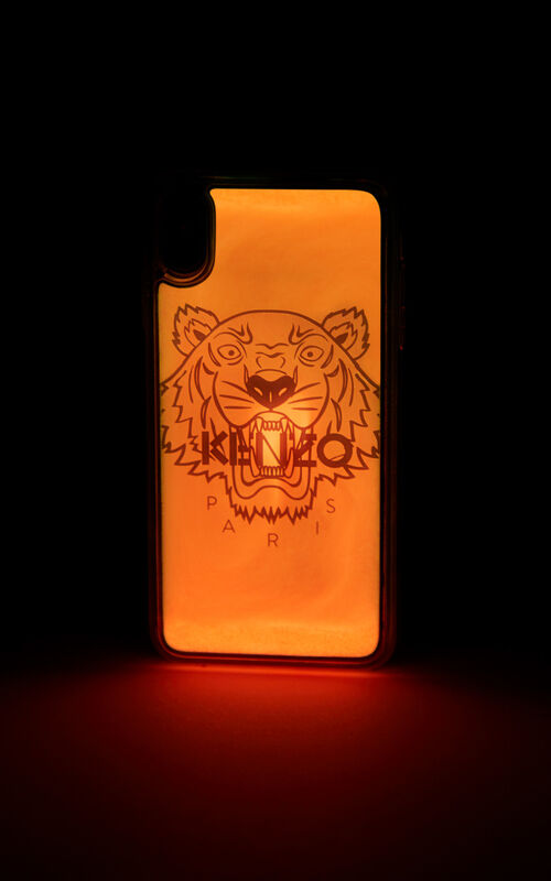 STRAWBERRY iPhone XS Max Tiger case for unisex KENZO