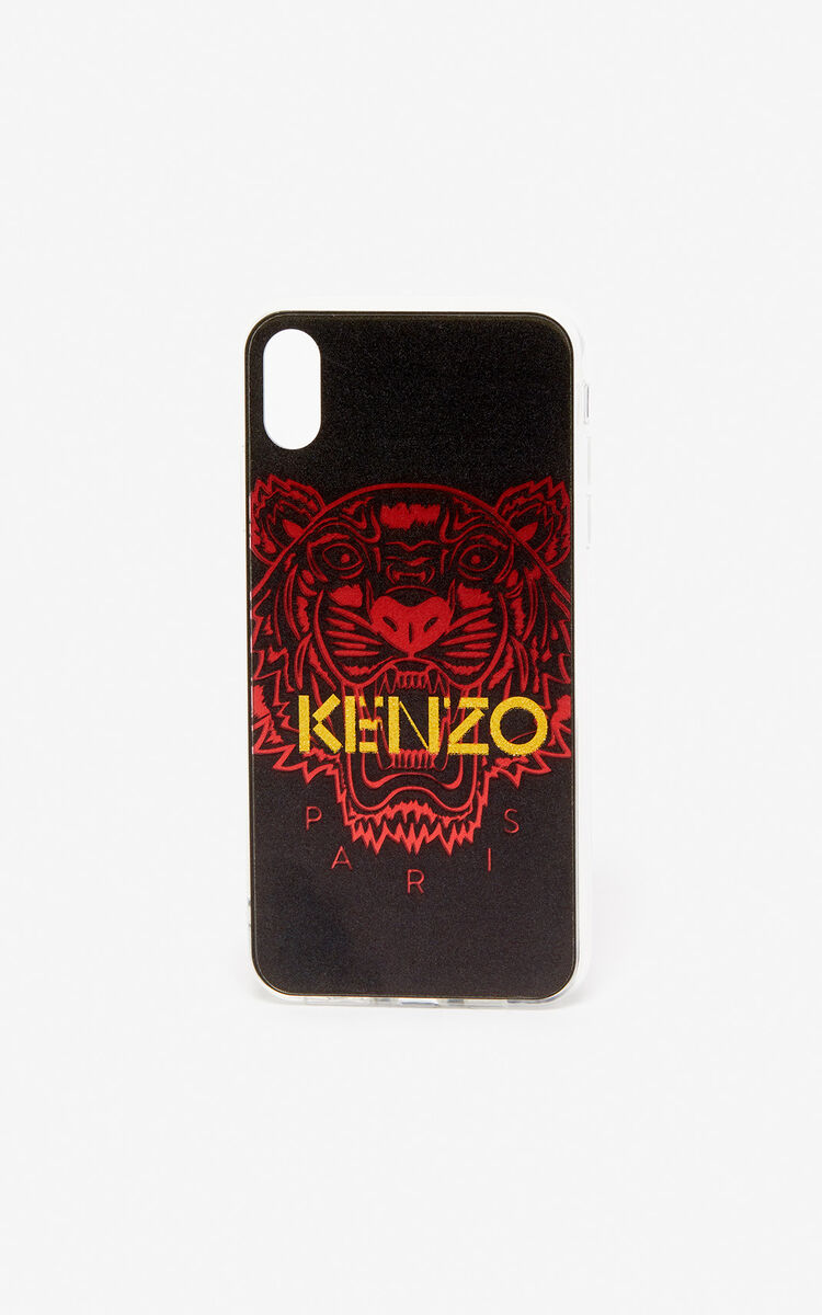 BLACK iPhone XS Max Tiger case for women KENZO