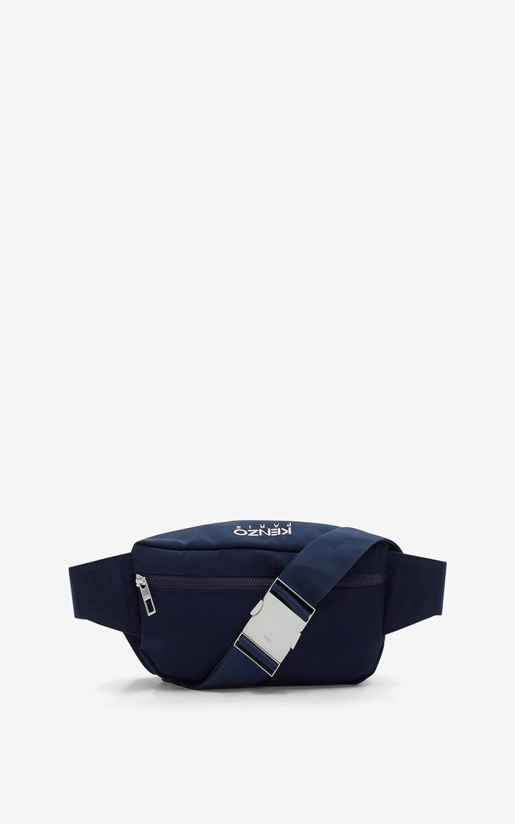 MIDNIGHT BLUE Tiger Bumbag for unisex KENZO