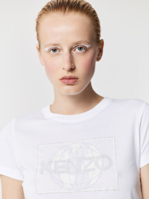 WHITE KENZO World' t-shirt for women