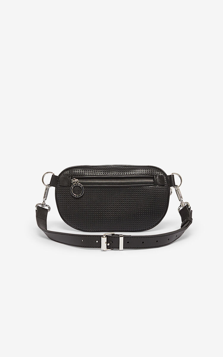 BLACK Kombo belt bag for unisex KENZO
